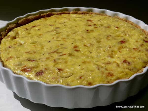 bacon and cheese quiche with fennel and leek low carb low carb maven. Black Bedroom Furniture Sets. Home Design Ideas
