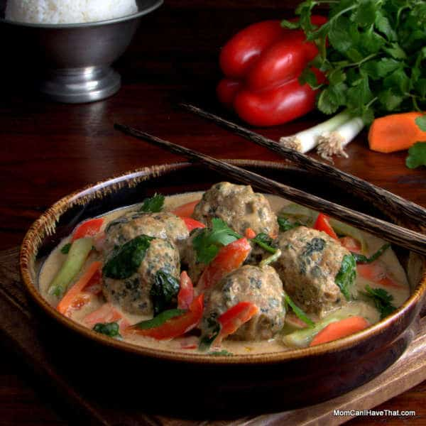 Massaman Curry With Turkey Meatballs