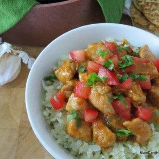 Pork Carne Guisada In Bowl With Tortillas (LC, GF) | http://lowcarbmaven.com