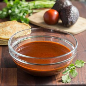 Easy Enchilada Sauce (low carb, gluten-free)