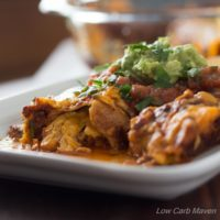 Low Carb Chicken Enchiladas | Low Carb Maven