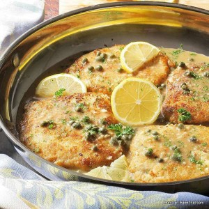 Low Carb Pork Loin Piccata