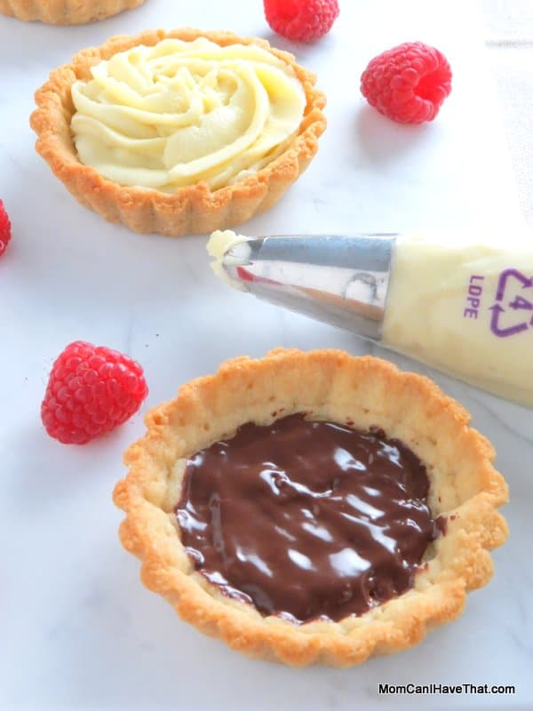 Pistachio Raspberry Rose Tartlettes | Low carb Gluten-free Dairy-free Paleo | http://lowcarbmaven.com