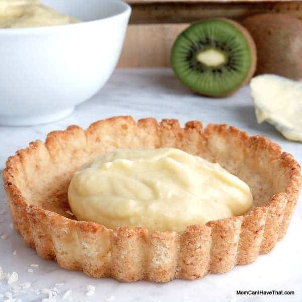 Almond Flour Tart Crust With Shredded Coconut | Low Carb Maven