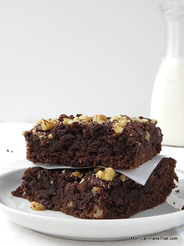 Low Carb Keto Chocolate Banana Brownies Dairy Free