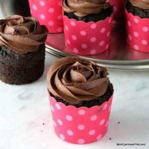 Chocolate Crazed Espresso Cupcakes