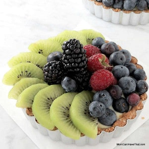 Low Carb, Gluten-Free Fresh Fruit Tart