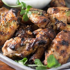 Homemade Indian Chicken Tikka Wings Recipe