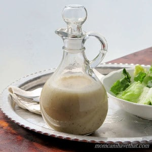 Garlic Herb Dressing (Vinaigrette)