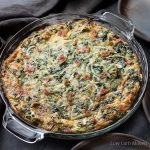 Crustless Spinach Bacon Quiche