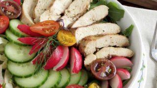 Herb Grilled Chicken Salad (Keto)