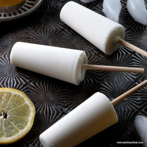Low Carb Popsicles With Lemon & Buttermilk