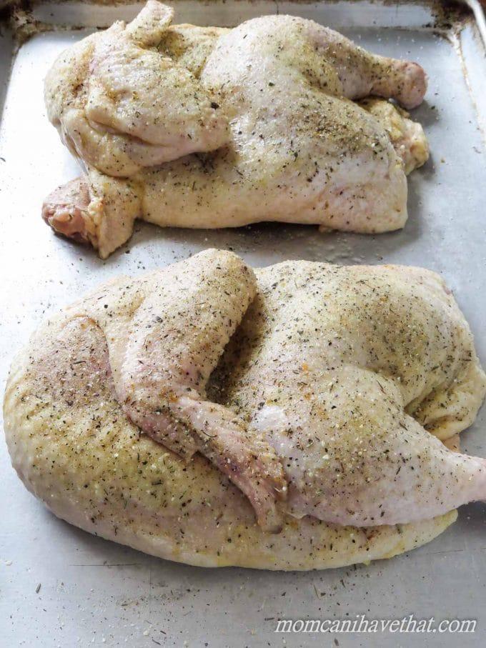 Roasting a Half Chicken | lowcarbmaven.com