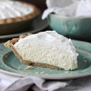 Gluten-Free, Low Carb Banana Cream Pie