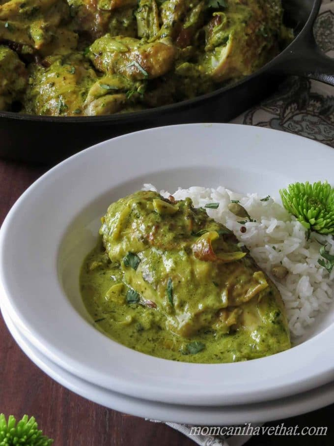 With a few tweaks, this recipe for Bangalore Chicken is now low carb and ready in 30 minutes!   low carb, dairy-free, gluten-free, Paleo, keto, thm-s   lowcarbmaven.com