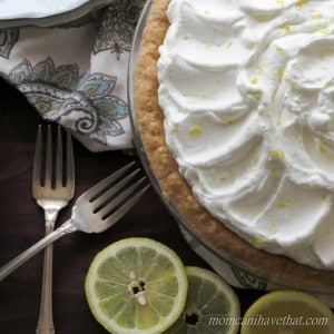 Gluten- Free Low Carb Lemon Curd Pie