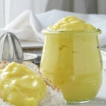 Make this tart low carb lemon curd in 10 minutes | low carb, keto. thm-s | lowcarbmaven.com