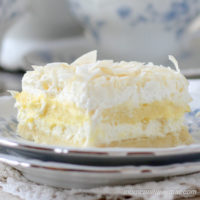 Low Carb Coconut Cream Layered Dessert (Coconut Cream Delight)