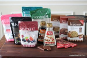 Introducing Sukrin Low Carb Products- NEW from Skandinavia