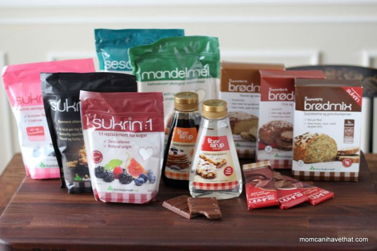 Meet the Sukrin Sugar-Free and Low Carb Products Family | lowcarbmaven.com