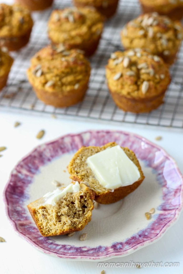 Low Carb Pumpkin Spice Breakfast Muffins | Gluten-free, Dairy-free, Keto | lowcarbmaven.com