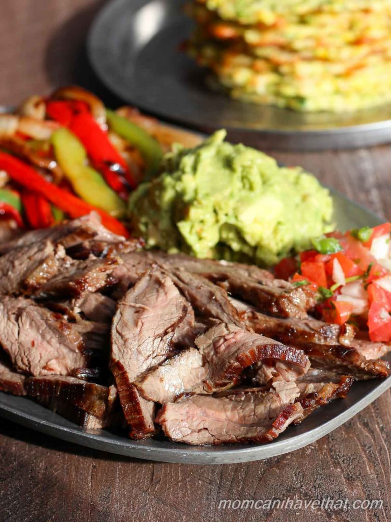 This traditional recipe for steak fajitas is easy and always the best. | low carb, keto, paleo