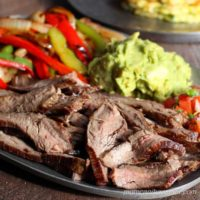 This traditional recipe for fajitas is easy and always the best. | low carb, gluten-free, dairy-free, paleo, keto, thm | lowcarbmaven.com