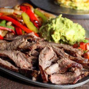 Steak Fajitas with Traditional Marinade