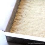 """This basic shortbread crust is easy to make requiring only a few minutes of time. Get that elusive """"tastes like the real thing"""" flavor in your Low Carb baked goods.   Low Carb, Gluten-free, Casein-Free. THM-S   lowcarbmaven.com"""