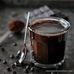 Low Carb Hot Fudge Sauce is sugar-free and full of rich, sophisticated, chocolate flavor. | Low Carb Gluten-free | lowcarbmaven.com