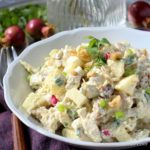 Low Carb Curried Chicken Salad 3-5 net carbs per serving | Low carb, Gluten-free, Dairy-free, Paleo, THM | Low Carb Maven