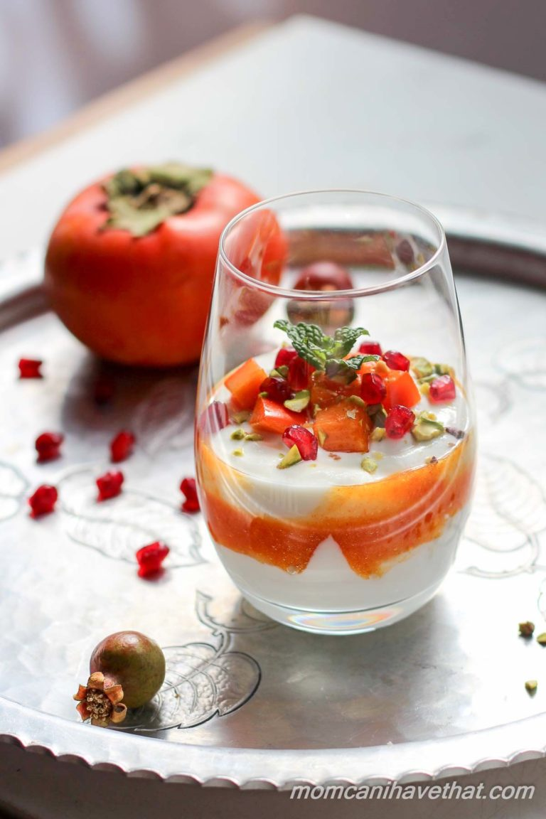 Made from wholesome ingredients, these Persimmon Yogurt Parfaits are simple and delicious!!   Low Carb Maven