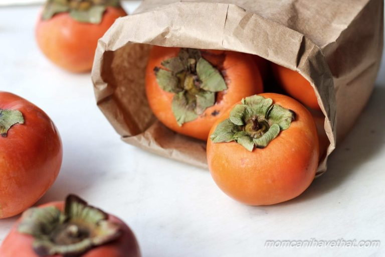 Fuyu Persimmons | lowcarbmaven.com