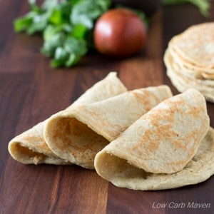 Almost Zero Carb Low Carb Wraps