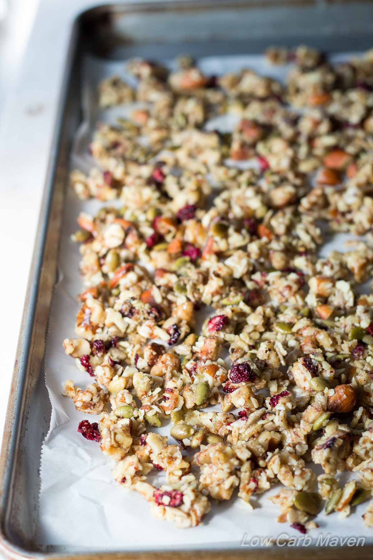 Really Good Low Carb Granola Low Carb Maven