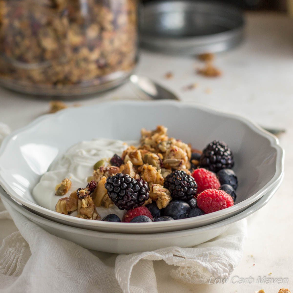 Really Good Low Carb Granola