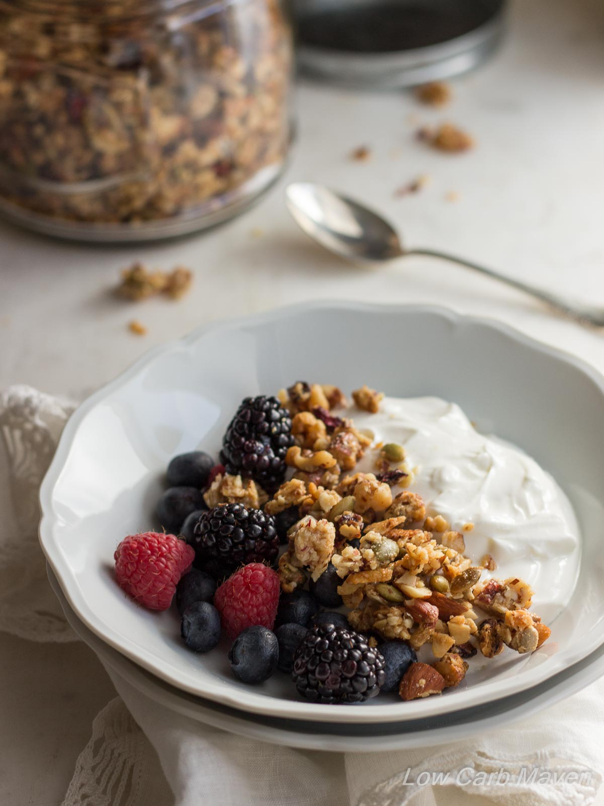 Really Good Low Carb Granola | Low Carb Maven