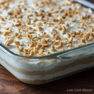 Low Carb Peanut Butter Layered Dream
