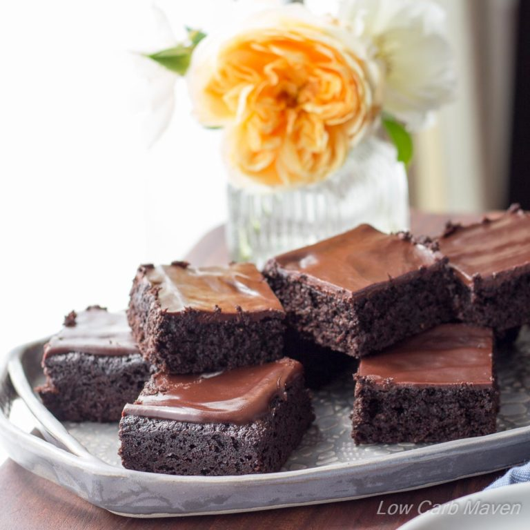 Martina's Amazing Fudgy Keto Brownies! | Low Carb Maven