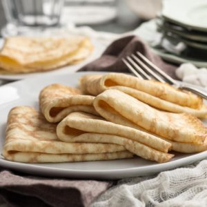 No-fail Low Carb Crepes (savory)