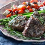 Flavorful lamb chops with a delicious mustard cream pan sauce cook in 1 pan in 30 minutes. |Low Carb, Gluten-free, Primal, Keto, THM