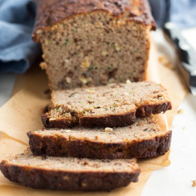 Low Carb Zucchini Bread (coconut flour)   Low Carb Maven