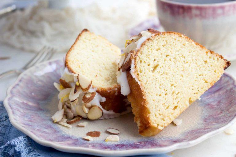 Low Carb Lemon Cake With Almond Flour
