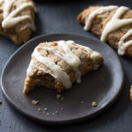 Maple and toasted walnuts are the stars in these low carb Maple Walnut Scones.