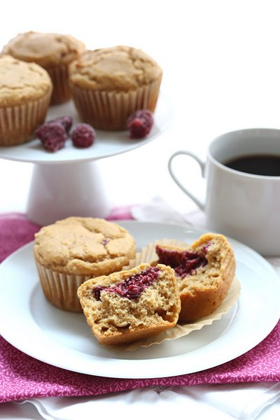 Peanut Butter and Jam Muffins - All Day I Dream About Food