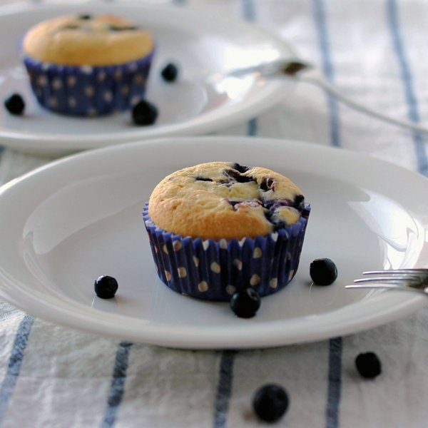 Blueberry Muffins - Low Carb So Simple