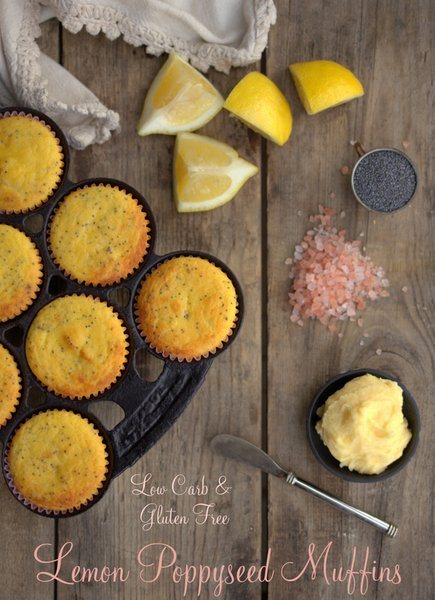 Lemon Poppy Seed Muffins - Maria Mind Body Health