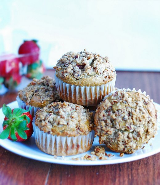 Low Carb Strawberry Muffins - Low Carb Diet