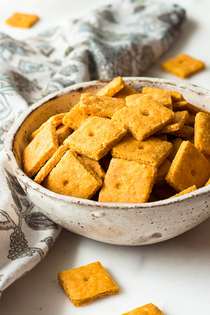 low carb cheddar cheese crackers low carb maven