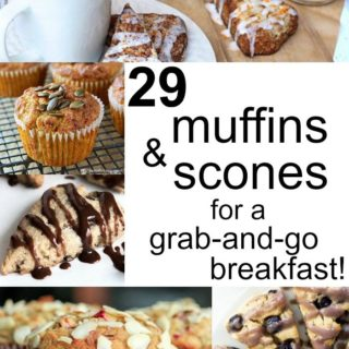 Low carb and keto muffins and scones are the perfect grab-and-go breakfast on busy mornings.
